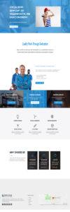 Шаблон сайта - Фирма по производству электрооборудования